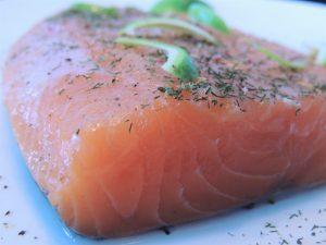 imagen salmón ahumado