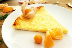 Tarta - queso -philadelphia -mandarina-mango