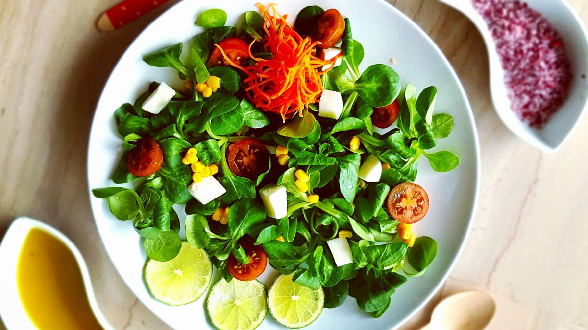 canónigos, queso fresco, aceite, zanahoria, carrot, maiz