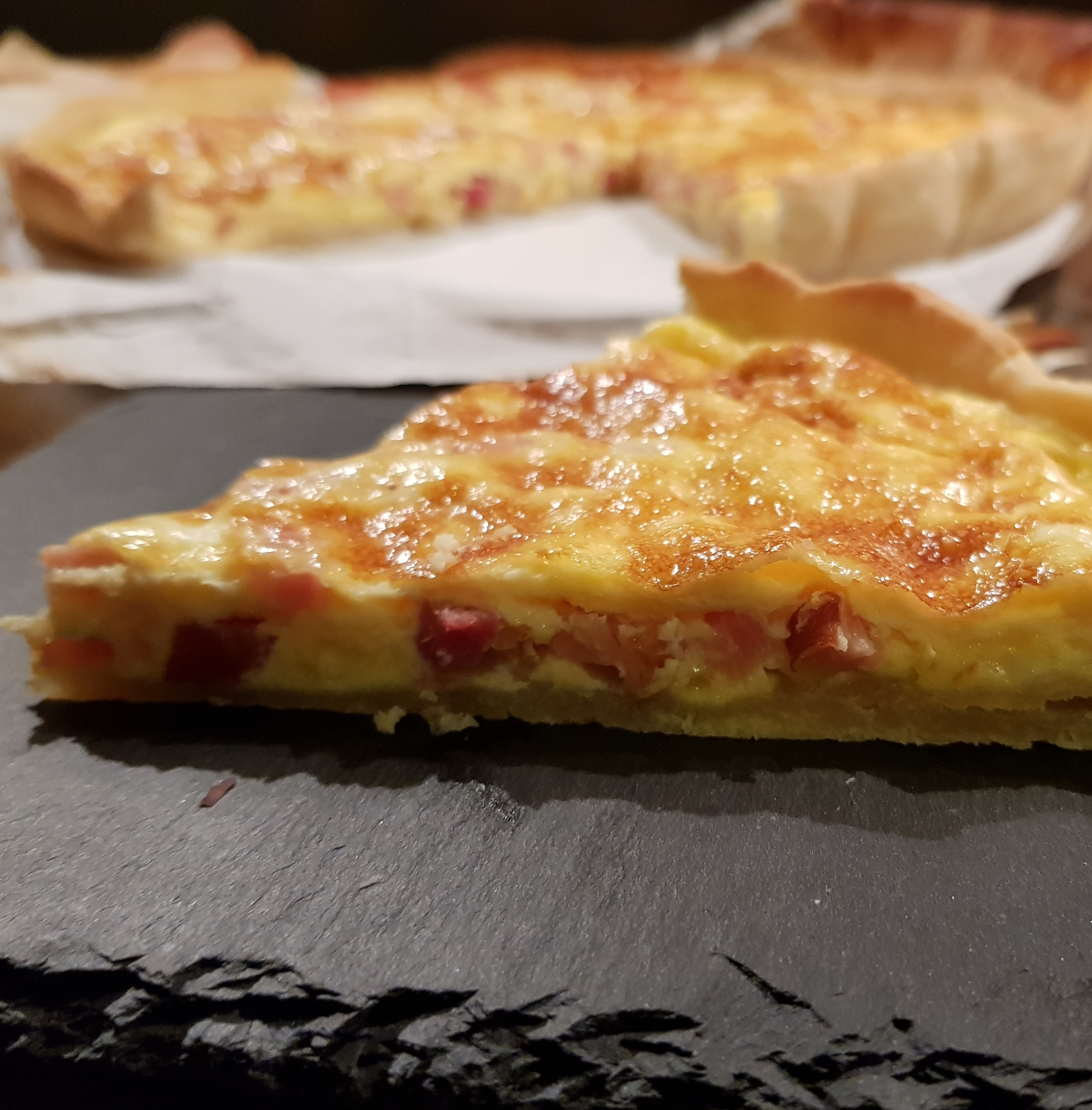 Quiche de bacon